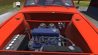 My Summer Car - Что дает установка спортивного карбюратора. Разгон до 100 км/ч и максималка