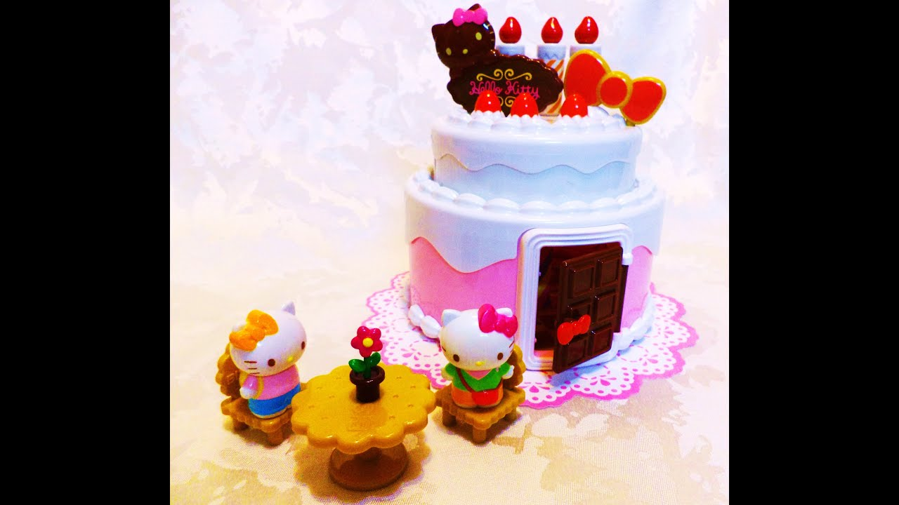 Casual Review of Hello Kitty Birthday Cake House Playset Toy
