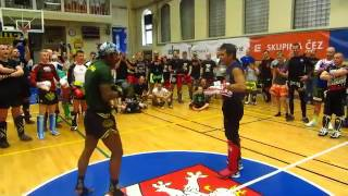 Buakaw Banchamek trénink Karlovy Vary Fight Night Mythology 18.4.2015