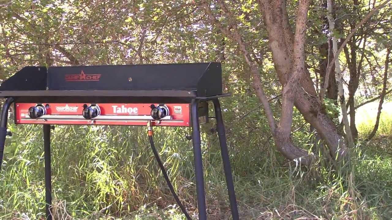 Camp Chef Tahoe 3 Burner Stove