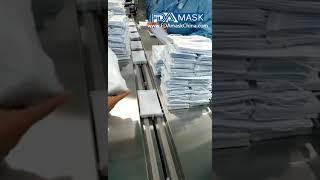 마스크 온 팩 자동 필름 플로우 랩핑 백 포장기 10 …