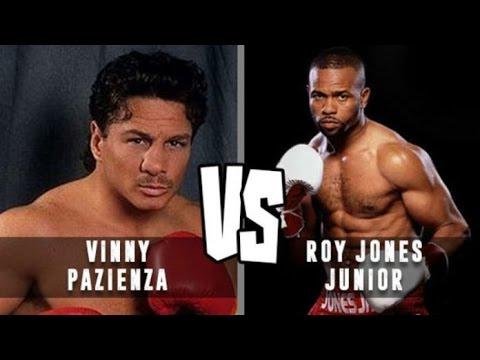 Рой Джонс-младший против  Винни Пациенца / Roy Jones Junior Vs Vinny Pazienza