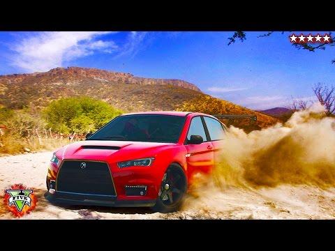 GTA 5 Extreme RALLY Championship! - Extreme GTA Custom Rally Car Stunts & Races!!! (GTA Rally)
