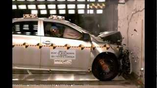 Toyota Corolla | 2012 | Frontal Crash Test | NHTSA | Hi Speed Cam | CrashNet1