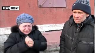 Жители Горловки готовы голыми руками разорвать карателей 18+ Видео News Front