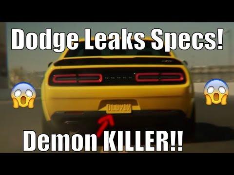 Dodge Teases Hellephant Angel HP & 1/4 Mile! It's INSANE!