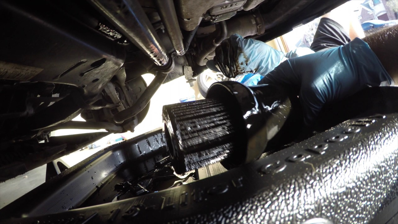 Audi A4 Oil Change Cost >> How To Do An Oil Change On 2008 Audi A4 2 0t Youtube