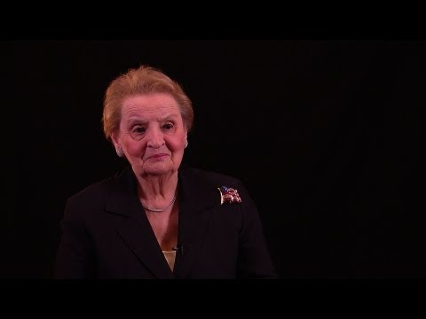 Presidential Medal of Freedom Recipient Madeleine Albright