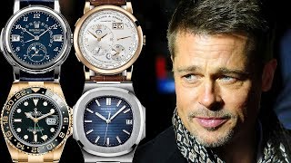 Brad Pitt Watch Collection - Rated from 1 to 10!