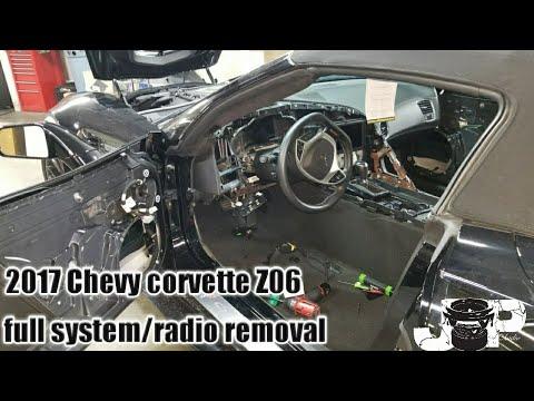 Chevy Corvette Z06 Dash Removal | Diy | How To