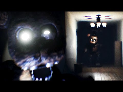 HIDDEN ANIMATRONICS! CHASED BY FREDDY! | The Joy of Creation: Reborn (Free Roam FNAF 4 Fan Game)