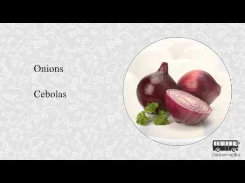 Learn Portuguese Visual Dictionary - Vegetables via Videos by GoLearningBus(3B)