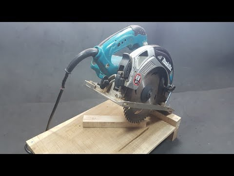 How To Make A Mini Chop Saw Machine || Circular Saw Hacks