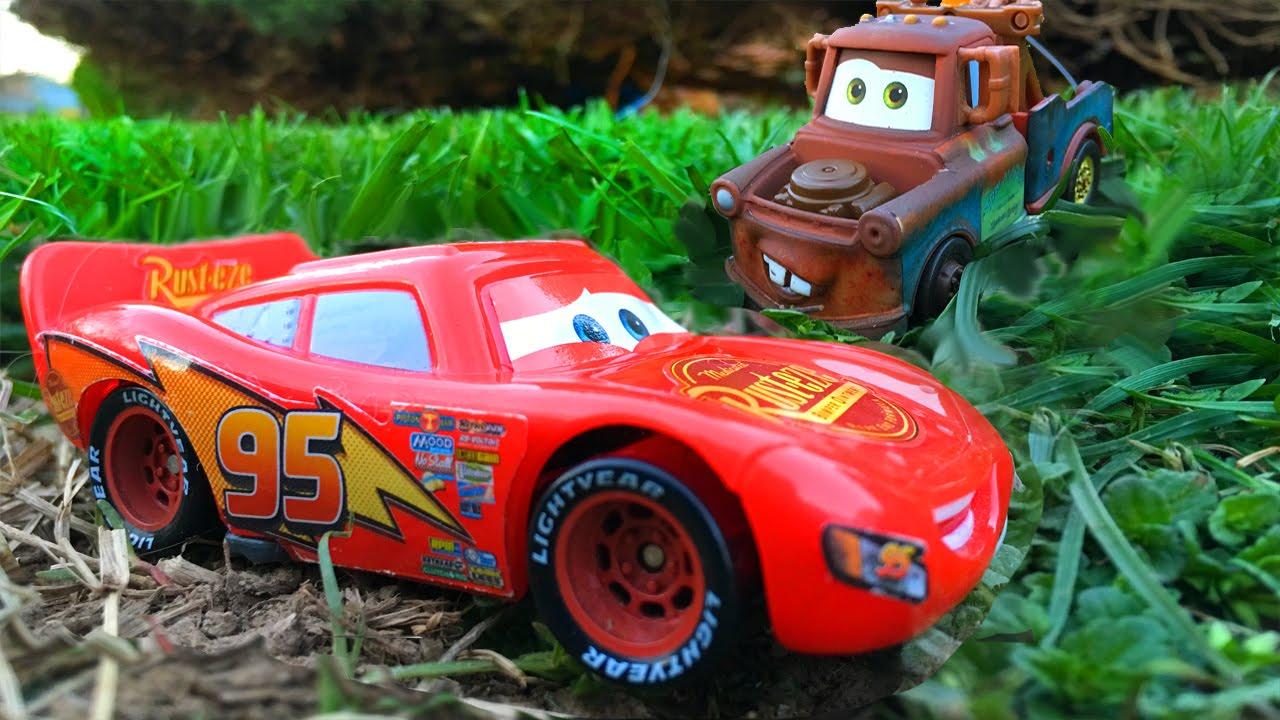 disney pixar cars lightning mcqueen cars mater big scare dancing