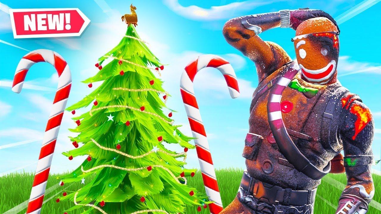 Welcome To Fortnite Christmas 2018 Youtube