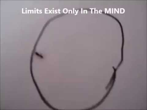 Remember .. Limits exists only in the mind !!!
