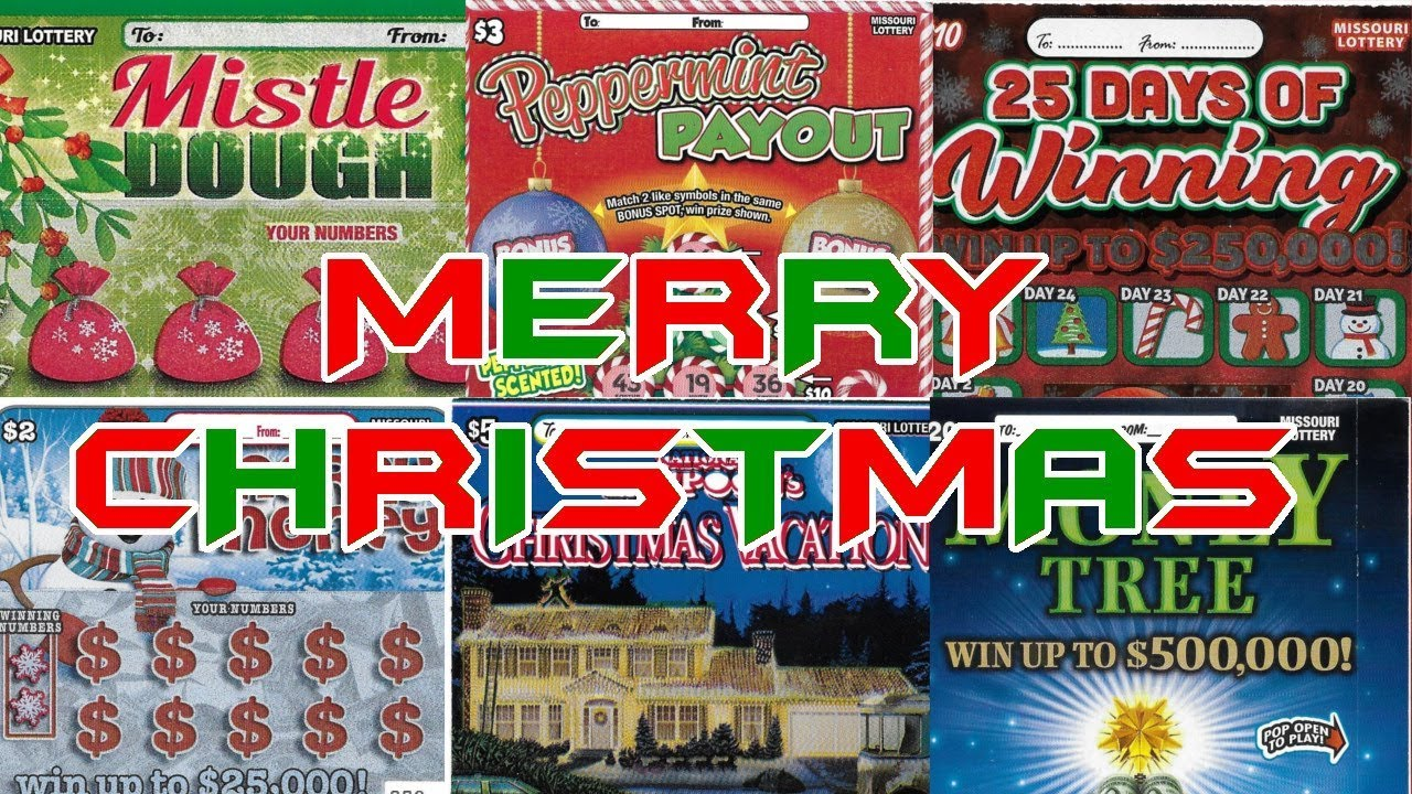 Chasing Christmas.Chasing Christmas Luck 200 Session Christmas Special Missouri Lottery Scratchers