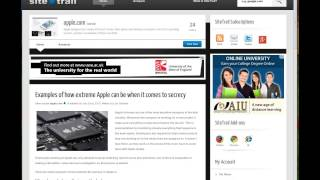 Examples of how extreme Apple can be when it comes to secrecy
