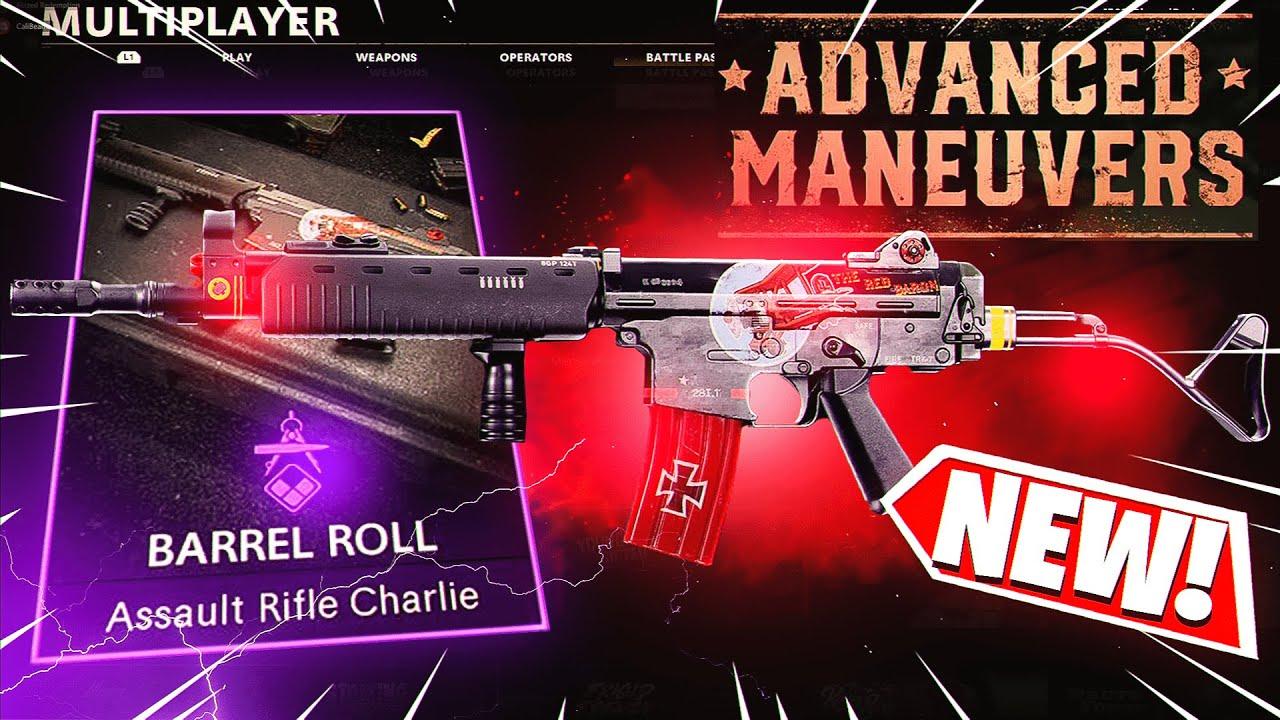 the UNSTOPPABLE KRIG 6 BARREL ROLL! *NEW* ADVANCED MANEUVERS DLC BUNDLE - BLACK OPS COLD WAR!