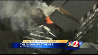 Officials unsure what started Heather Glen Apartments fire