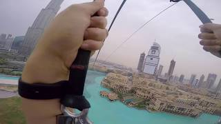 XLINE- Zipline Dubai -First Video!!