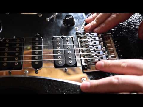 How to Adjust The Action on a Floyd Rose Tremelo