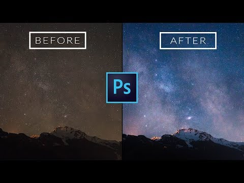 Use These EASY Tricks For Better Astro Photos: Photoshop CC