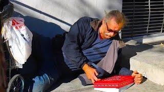 Christmas For Homeless Social Experiment