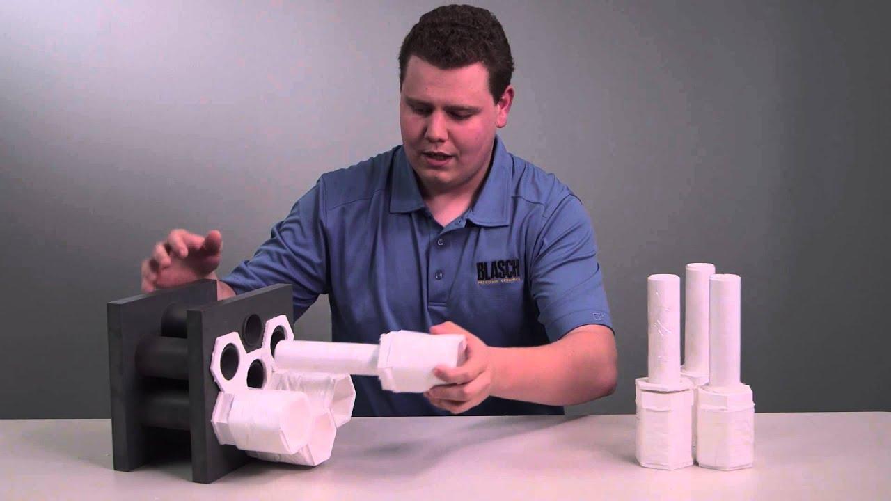 Blasch precision ceramics ferrule piece