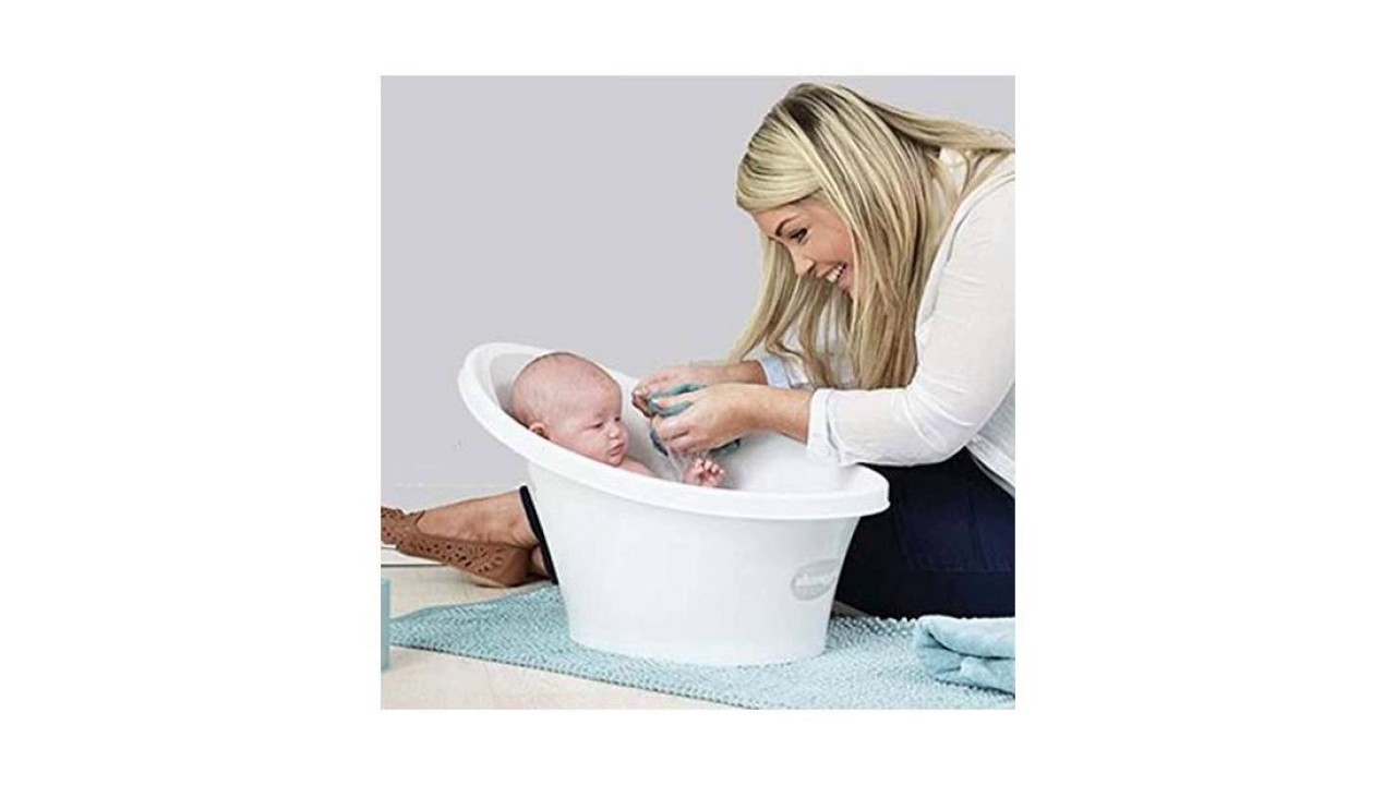 Shnuggle Baby Bath Tub - Compact Support Seat, Makes Bath Time Easy ...