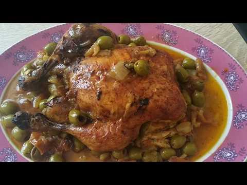 poulet-aux-olives-façon-marocaine-cookeo