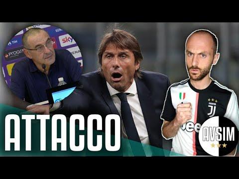 Conte attacca Sarri e rinnega la Juventus ||| Speciale Avsim