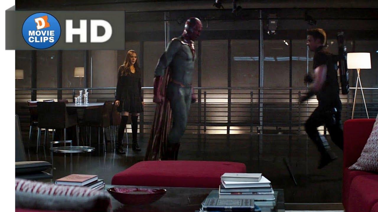 Download Captain America: Civil War Hindi (06/14) To Free Wanda Scene MovieClips
