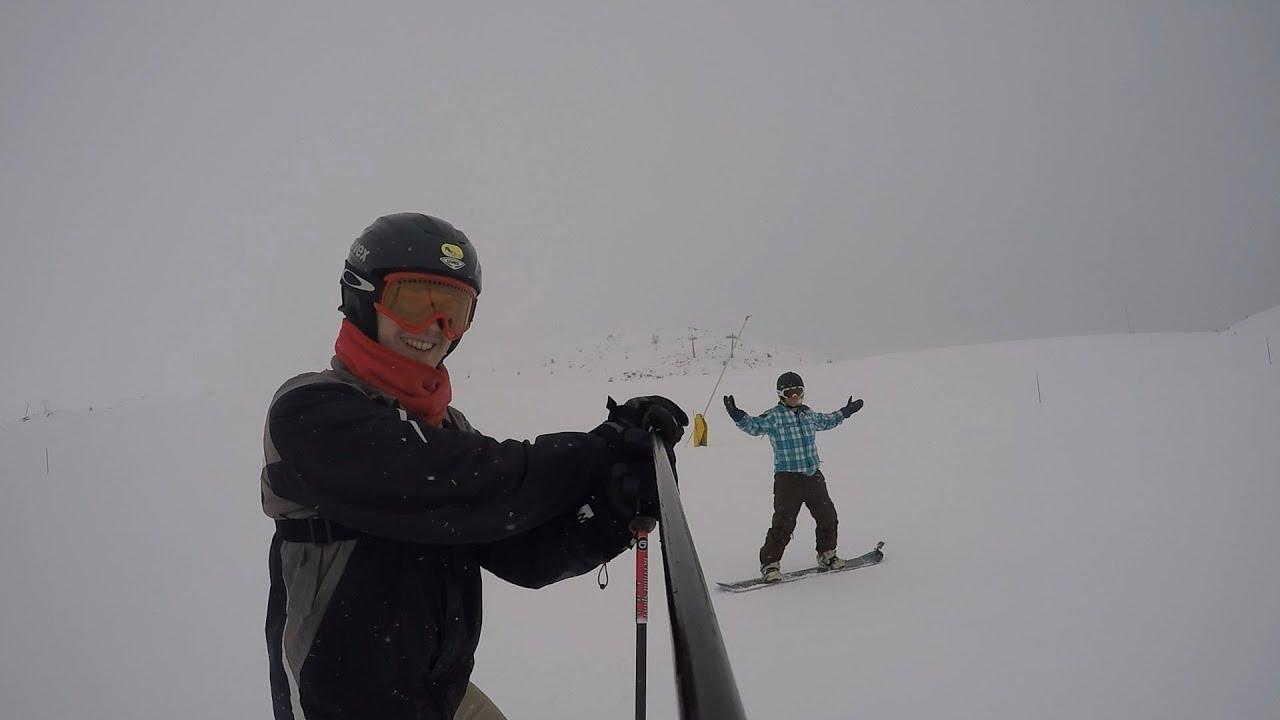 Gopro hero4: skiing - la thuile
