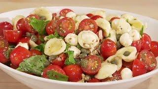 Cherubs Tomato Caprese Pasta Salad