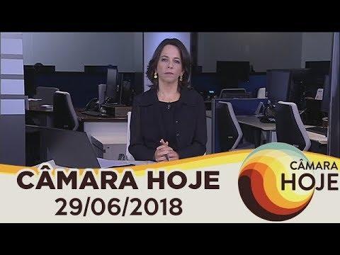 Câmara Hoje - Câmara e Senado lançam competição para desenvolvedores de aplicativos | 29/06/2018