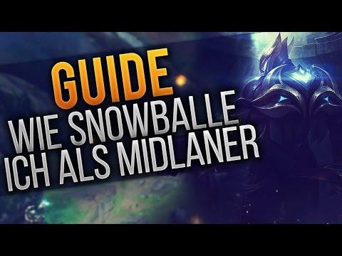 Wie Snowballe ich das Game: Midlane [Tutorial] [League of Legends] [German / Deutsch] thumbnail
