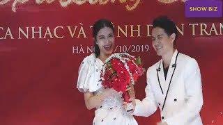 Ông Cao Thắng tặng quà cưới Đông Nhi bó hoa đính đá 650 triệu đúng dịp 20/10 | Show Biz