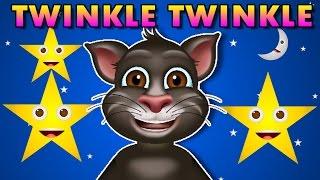 Twinkle Twinkle Little Star Nursery Rhymes - Kids Learning Videos - Tom Cat Singing Rhymes(, 2016-01-08T08:55:57.000Z)