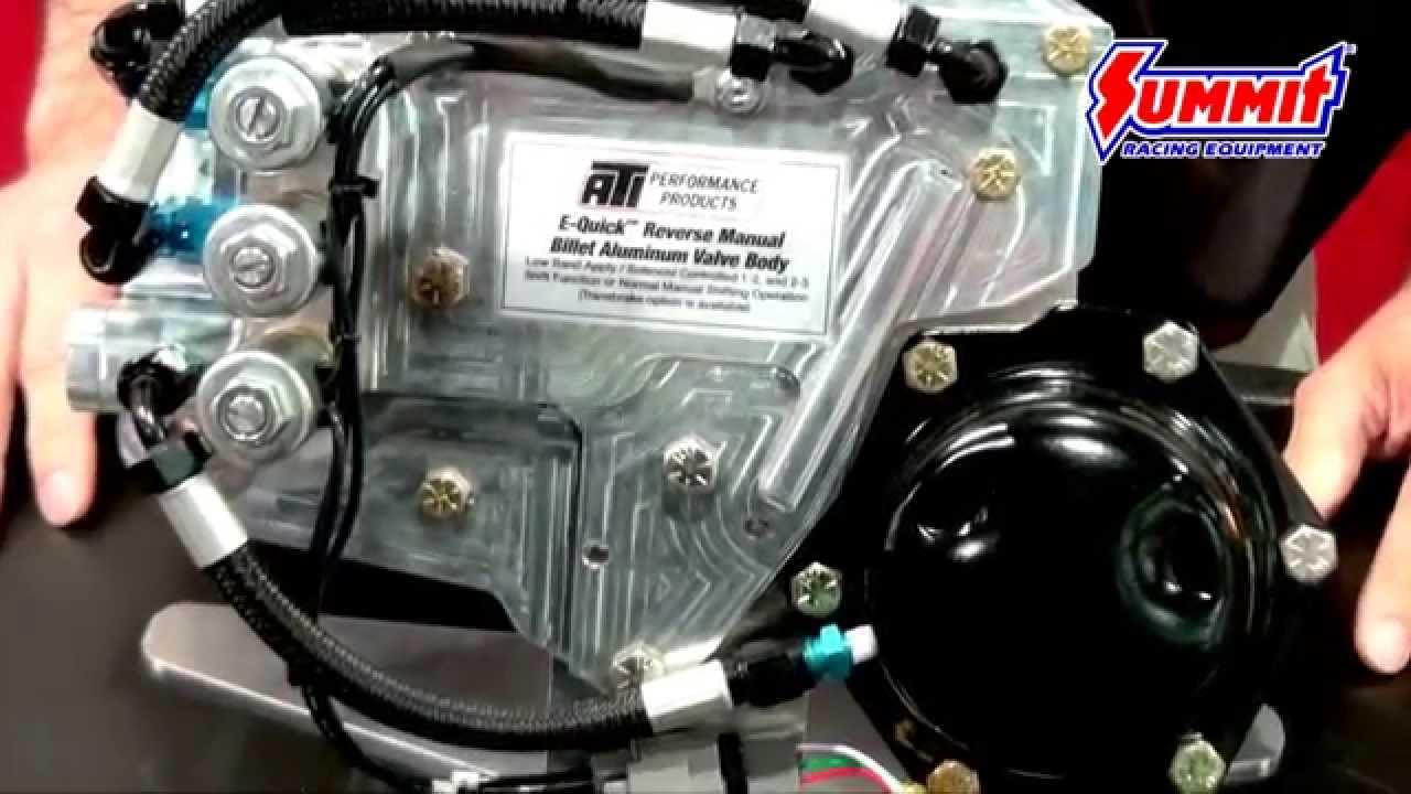 ATI E Quick Turbo 400 Valve Body - New Product at SEMA 2015 - YouTube