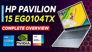 hp pavilion laptop 15-eg0104tx review hp pavilion 15 eg0104tx with nvidia mx450 complete overview