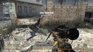 Modern Warfare 2 - No scope / Sniping Montage - Intervention