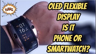 Nubia Alpha, Flexible Display, Wearable SmartPhone, Detailed Review Hindi, All Features By #GTUMWC19