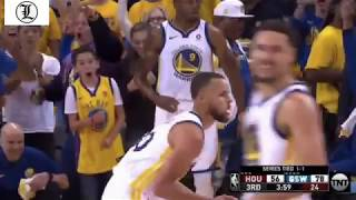 Stephen Curry  ISO on James Harden !!!  Warriors vs Rockets 20May2018 Game# 3