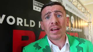 'I WAS GONNA BITE HIS NOSE OFF!' - PETER McDONAGH ON SINGLETON BEEF / & RIO FERDINAND TURNING PRO