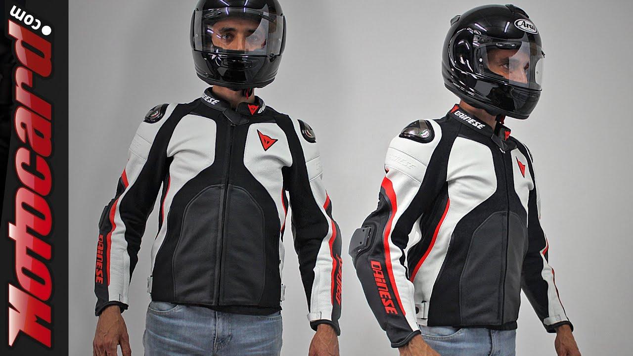 Dainese Super Rider An 225 Lisis De La Chaqueta De Piel En