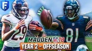 YEAR 2 FULL OFFSEASON STREAM! - Madden 18 Bears Franchise   Ep.38 2017 Video