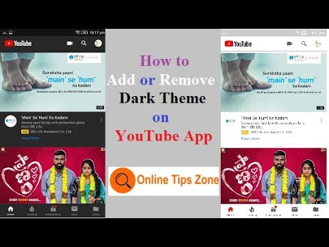 How to get YouTube dark mode on Android