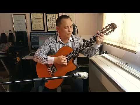 """"""" Senhorinha """" Classical guitar solo by Daniel"""