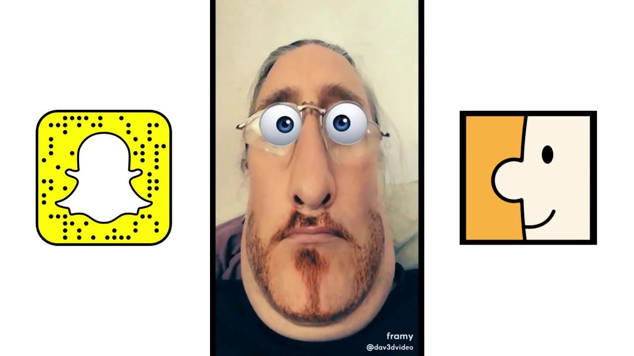 Snapchat Framy - YouTube